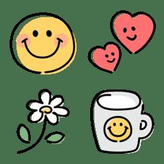 Useful smiley basic emoji