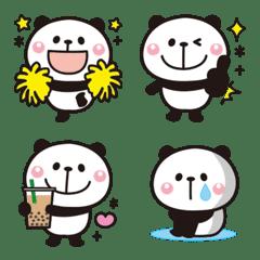 Adult cute panda Emoji (Whole body)