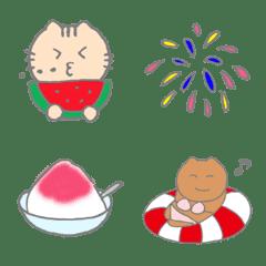 Cute! Summer Emoji