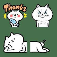 反應過激的猫(吾輩は猫です。)絵文字 2