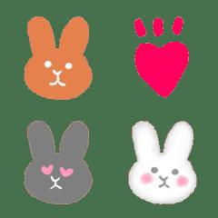 Rabbit fuwafuwa blur emoji