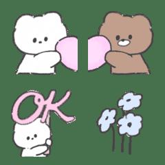 Soft and cute animal emoji 2nd