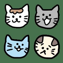 Cat Everyday Emoji.