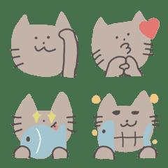 Cat chan E moji