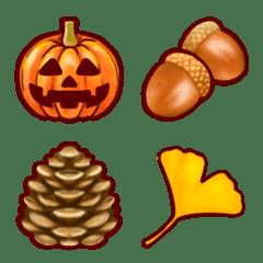 Autumn Halloween Emoji