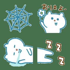 blue bear and Halloween