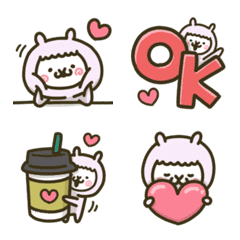 fool alpaca-chan emoji 2