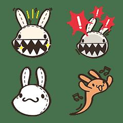 อิโมจิไลน์ Foufou Bunny Cute Emoji