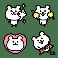 Simple bear emoji 2