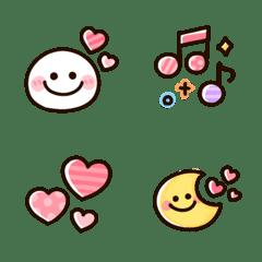 kawaii basic emoji set