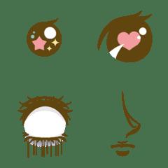 Make a facial expression