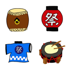 """TAIKO""version of cute emoji"
