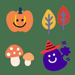 autumn emoji daily