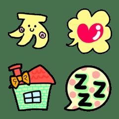 Emoji coloring conversation Part4