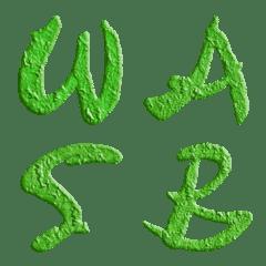 Wasabi Sauce Spicy (A-Z) Emoji Cute