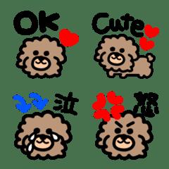 Toy poodle.emoji