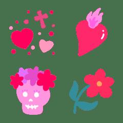 Kawaii Mexico heart