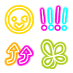 neon picture character