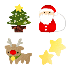 Fluffy Cute Christmas Emoji Line Emoji Line Store