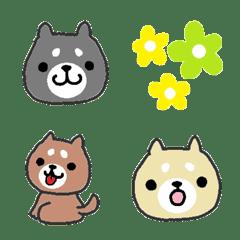 Cute Japanese dog SHIBAINU Emoji