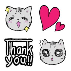Frequently used emoticons(cat)