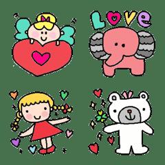 Various set emoj18