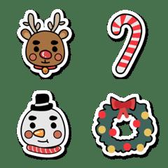 聖誕節小裝飾-貼紙