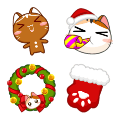 Gojill The Meow Emoji Christmas