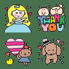 Various set emoji21
