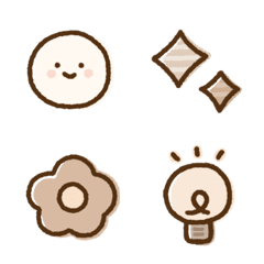 Beige simple Emoji