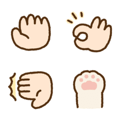 Cute hand sign Emoji