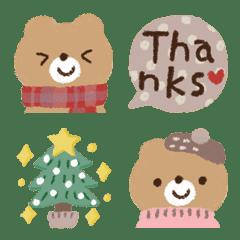 Teddy Bear in winter