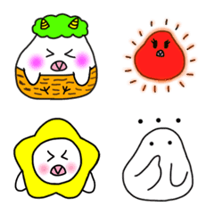 a paddybird: Kohaku Emoji 1