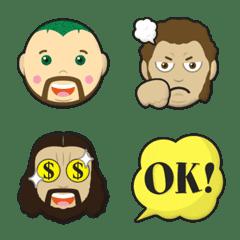 pro wrestling heel wrestler emoji part3