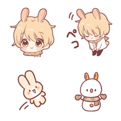 Emoji of the rabbit boy