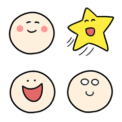 Simple Smile Emoji for You
