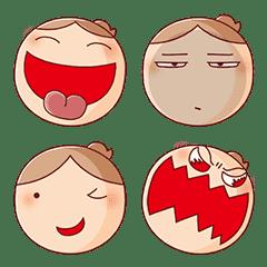 อิโมจิไลน์ Nonie Emoji 2