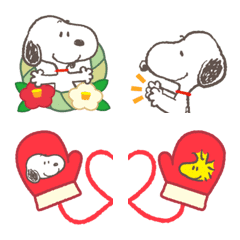 Snoopy 賀年表情貼