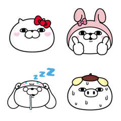 SANRIO CHARACTERS × YOSISTAMP Emoji