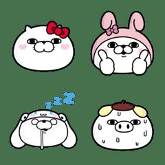 อิโมจิไลน์ SANRIO CHARACTERS × YOSISTAMP Emoji