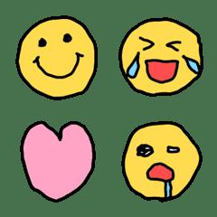 Children emoji. Smile face!