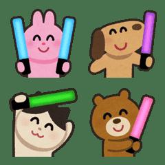 อิโมจิไลน์ Irasutoya Party Emoji