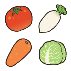 kabiemoji2 vegetable