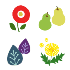 Scandinavian essence nature emoji