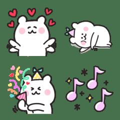 Bear to enjoy every day emoji