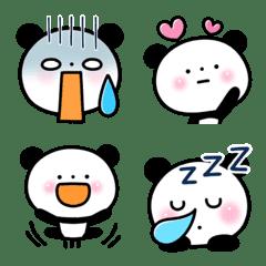 อิโมจิไลน์ Monochrome Panda.