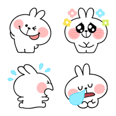 Spoiled Rabbit Emoji2