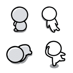 Various emotions Maruo emoji