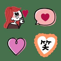 cute woman Emoji (2)
