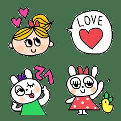 Various set emoji 112 adult cute simple